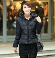 Korean Women Slim short paragraph coat cotton jacket winter fashion trend specials short paragraph jacket