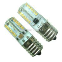 FREE SHIPPING 10 x E17 3W 64 3014 SMD LED light bulb 110~120V Warm White Silicone Crystal
