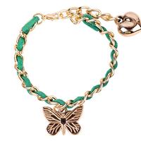 butterfly charm bracelet gile garden bracelet gift