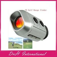 5pcs/lot Digital 7X18 Golf Range finder outdoor distance finder With gift Bag  free Drop shipping