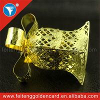 Nice Jingle Bell Metal Ornament, Top Quality Small Metal Xmas Gift Box for Christmas Wholesale