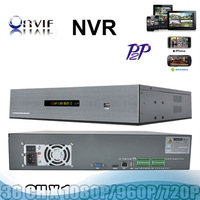 Hot Selling Profession 2u full onvif Video recorder nvr 36ch 1080P with HDMI P2P cloud for ip camera