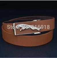 2014 Men Designer Belts HOT Fashion Belt MEN'S Genuine Leather Waist Strap Belts Automatic Buckle Black free shipping