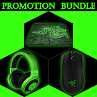 Super COMBO, Razer Abyssus 2014+Razer Kraken Pro+Razer Goliathus Medium Size, fast and free shipping, in Stock