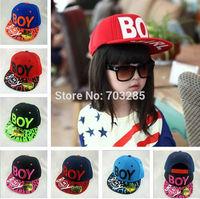 2014 NEW boys & girls rainbow style baseball caps boy girl chlidren  fashion hip-hop caps unisex summer hats top quality retail