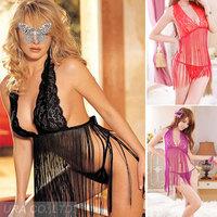 Women Jumpsuits Sexy Lingeries Hot Black/ Purple/ Red Sexy Teddy  temptation  open Breast lingerie Wholesale Drop Ship US5022