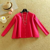 2014 Autumn Winter Women Knitted Cloak Casacos Femininos Skirt Coat Ladies Casual Warm Knitted Outwear