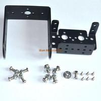 Free shipping  Mg995 996 steering gear pan and tilt mount mechanical robot servo mount set