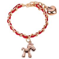 chinese zodiac horse charm bracelet animal charm bracelet