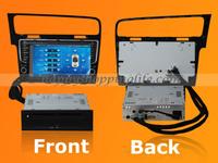 "DHL freeshipping 9"" Big Display indash Car DVD Player Head Unit Multimedia GPS Navigation Stereo BT IPOD 3G For VW Golf 7 2013"