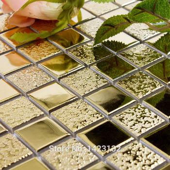 oro porcellana mosaico adesivi per piastrelle del pavimento pavimenti in piastrelle di ceramica ...