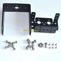 Free shipping 10sets Mg995 996 steering gear pan and tilt mount mechanical robot servo mount set