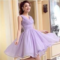 Fashion New Arrival Chiffon Dress Double Shoulder  Wedding Dress for Bride Multi-color Available S, M, L, XL