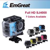 New Mini Camcorders Original Waterproof Sport Action Camera Helmet  Diving SJ4000 1080P Full HD Gopro Hero 3 Style Camera