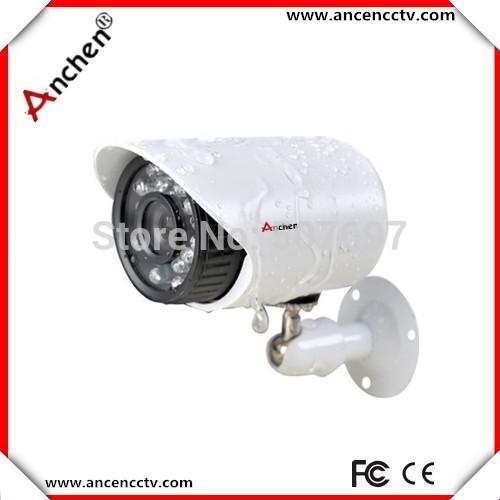 "Hot!!White CCTV cameras 1/3"" Sony Effio CCD 700TVL OSD menu IR 20m outdoor waterproof CCTV camera with Bracket . Free Shipping(China (Mainland))"