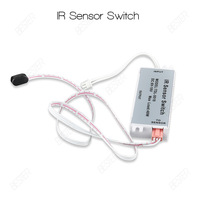 DC12V Inductive IR Sensor Switch Infrared Motion Sensor Module For LED Strip Sensor Products Freeshipping(BS025 1pc)