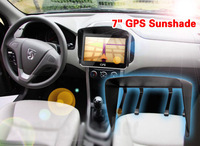 Free shipping 4pcs NEW Universal Black Sun Shade Sunshade Visor For 7 Inch GPS Navigator