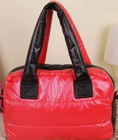 Hot Sale 2014 New winter women bags Korean female handbag space bag padded shoulder bag hit the color diagonal package SJ-39