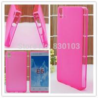 Free Shipping Pink Pudding Soft TPU Case Cover For BQ Aquaris E5 E5.0