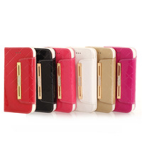 Fashion With Card Holder Rope Wallet Flip Leather case cover For iphone 6 6G 4.7 inch