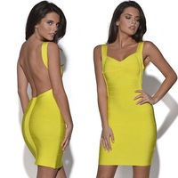 2014 women brand dress original single ladies sexy halter dress Slim hip plus size dresses 3 color 13098