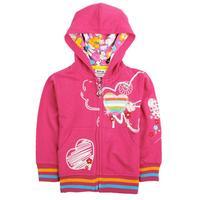 children hoodies Nova kids brand clothing 2014 fashion long-sleeved autumn-winter cartoon active zipper girls coat jacket F3365