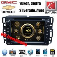 "DHL EMS free 7"" Car DVD Player GPS Head Unit BT IPOD 3G For GMC Yukon Tahoe Sierra Chevrolet Chevy Silverado Suburban Aveo"