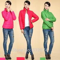 15 Candy Colors Fashion Womens Winter Jacket Female Winter Cotton-Padded Jacket Ladies Winter Coat Eiderdown Cotton Jacket