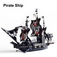 Hot Toy Ausini Pirate Ship the Black Pearl Building Blocks Educational Assembling Blocks Toys for Children Model Building
