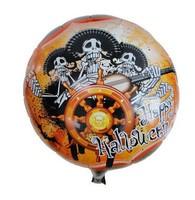 skeleton spooky Halloween Party Balloon Supplies birthday balloons decoration for Inflatable baloon Halloween Classic Toys bolas