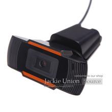 Schwarz hot-usb 2.0 pc-kamera-hd webcam web-kamera mit mikrofon für computer pc laptop skype msn(China (Mainland))