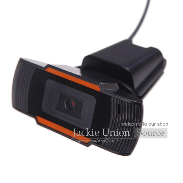 Black Hot USB 2.0 PC Camera HD Webcam Web Camera with MIC for Computer PC Laptop Skype MSN(China (Mainland))