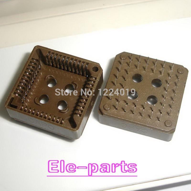 20 PCS PLCC44-DIP IC Socket , PLCC44 DIP Socket adapter , 44 Pin PLCC Converter(China (Mainland))