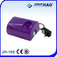 Medical Equipmnet Purple Massage Light Kit Nebulizer Inhaler Personal Air Compressor Nebulizer Machine Piston Adult Mask JH-105
