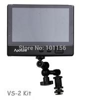 Aputure V-Screen 7'' LCD Field Adv. Monitor VS-2 Kit ultra-thin Camera Video monitor HDMI/YPbPr/AV (Audio/L/R) for DSLR with bag
