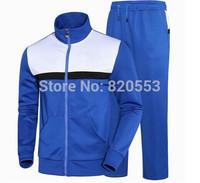 2014 Men's Zipper cardigan Sport Suits Tracksuits Hoodies Fashion Coats Jacket set Pants Sportswear sweatshirt
