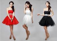 New Ball Gown Ladies Bridesmaid Costume Dress Women Evening Dress Beautiful Dinner Party Dress
