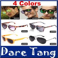 2014 new fashion sunglasses Aviator Frog Mirror sunglasses Vintage Eyeglasses Men glasses brand designer Women's Sunglasses 010
