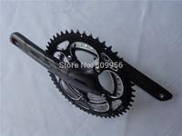 Ultra-Light Carbon Crankset Road Bike Crankset BB30 170/172.5/175mm BCD110 39T/53T Bike Accessaries