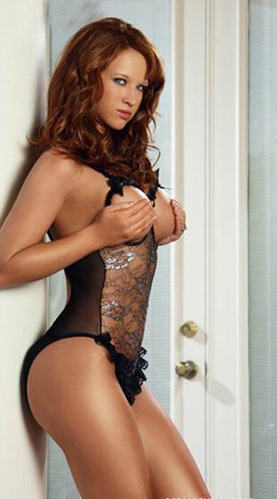 Molly that erotic sheer romper womens wear
