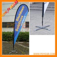 3m Tear drop flag pole + single flag+cross base -Australia- teardrop flags, teardrop banners, tear drop flag, tear drop banner
