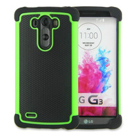 5pcs/lot New arrival Hybird dual layer heavy duty silicone shockproof protective case for LG G3 D858 D859 , free ship