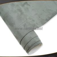 Gray artificial suede Alcantara adhesive for car  decoration