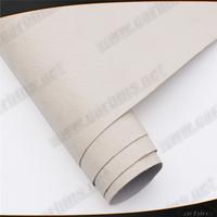 Ivory White auto wrapping suede Alcantara for car interior decoration  wrap sticker