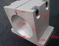 80mm spindle fixture for engraving machine, cast aluminum fittings, chuck,