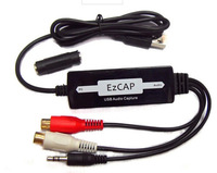 Easycap USB Audio Capture Grabber for Recording Analog Audio Source to Digital Format With Retail Box