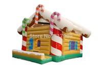 Christmas inflatable bouncer,Christmas inflatable toys,inflatable castle for kids Christmas games