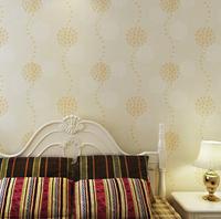 10M High Quality Living Room Background PVC Wallpaper 3D Embossed Dandelion Fresco Waterproof Bedroom Wall Paper Home Decor