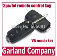3pc/lot remote control key duplicator for VW B5 alarm remote control key Home alarm system remote control remote key copier