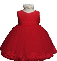 2014 summer new arrival flower princess girl dress,lace rose Party Wedding Birthday girls dresses,Candy princess tutu elegant